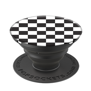 PopSockets Grip Checker Black, PopSockets