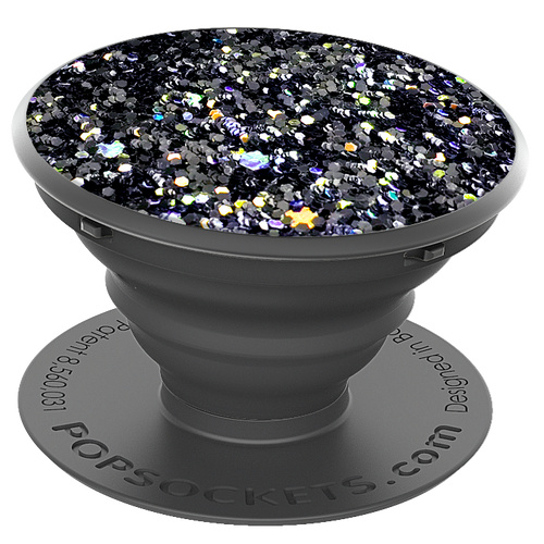 PopSockets Grip Sparkle Black, PopSockets