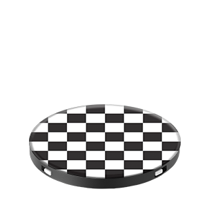 PopSockets Grip Checker Black
