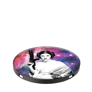 PopSockets Grip Star Wars Leia Galaxy
