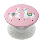 Swappable Llamalliance in Pink, PopSockets
