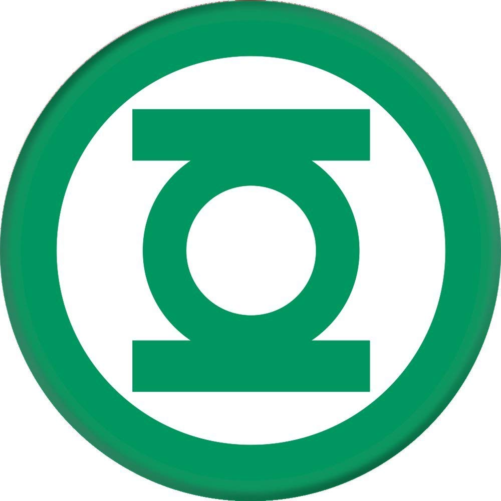 PopSockets Grip Green Lantern Icon, PopSockets