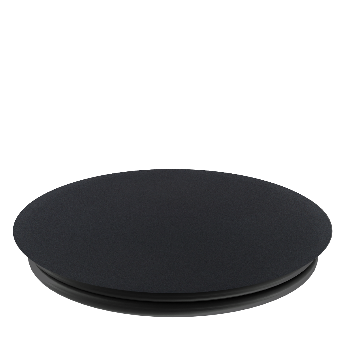 PopSockets Grip Aluminum Black