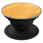PopSockets Grip Classic Bamboo (Made From Real Wood), PopSockets