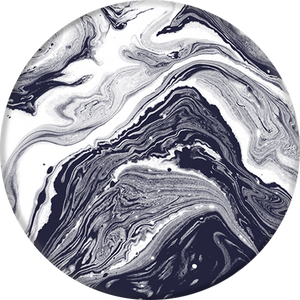 PopSockets Grip Black White Marble, PopSockets