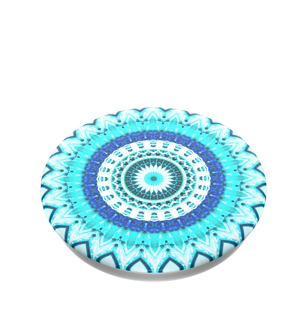 Swappable Blue Floral Mandala