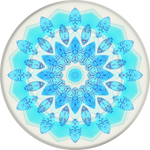 PopSockets Grip Blue Ice Star, PopSockets