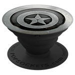 PopSockets Grip Monochrome Captain America, PopSockets