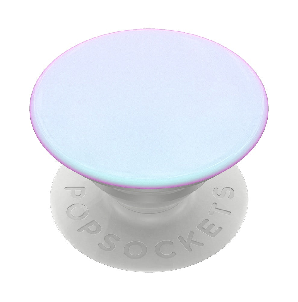 Swappable Color Chrome Mermaid White, PopSockets