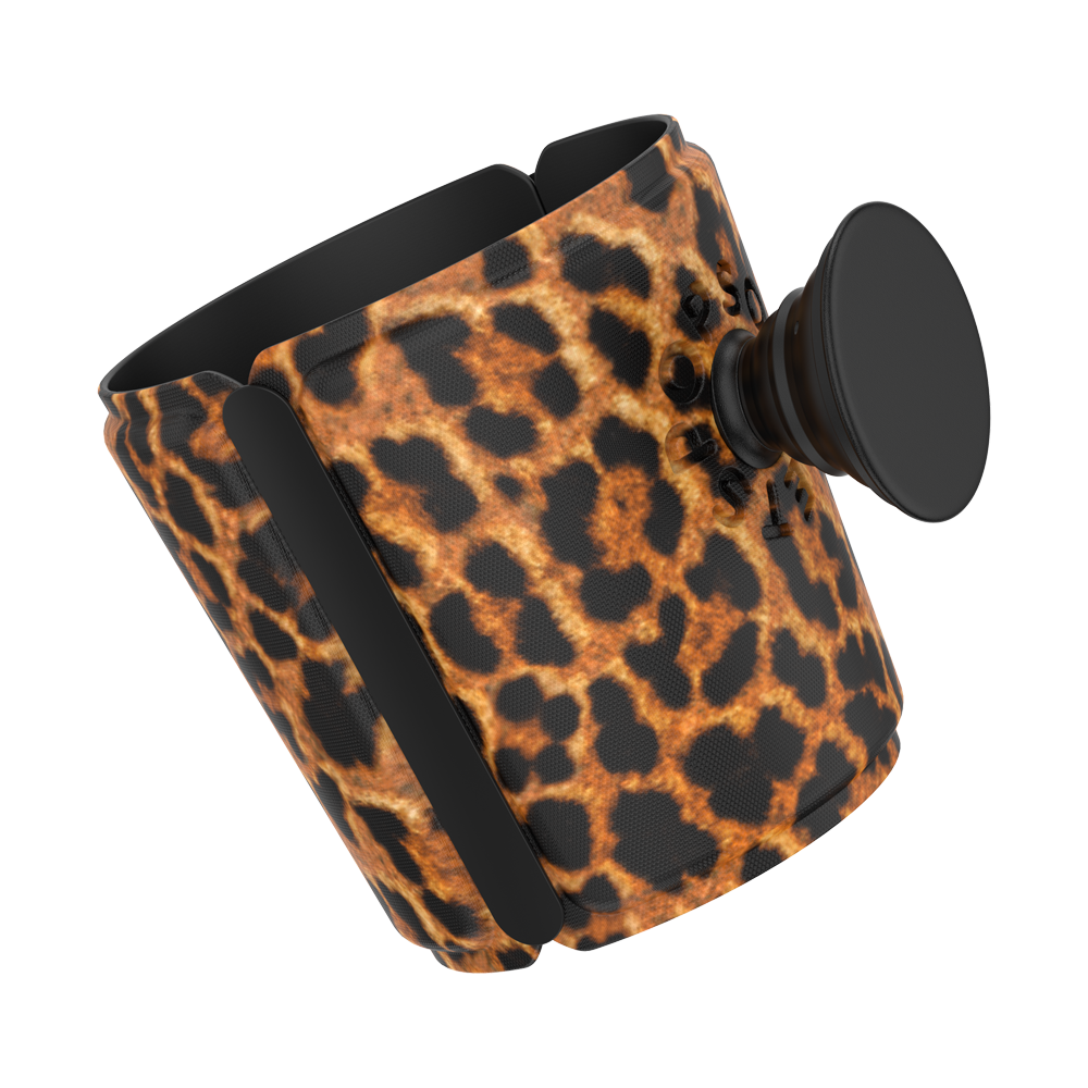PopThirst Cup Sleeve Leopard Prowl, PopSockets