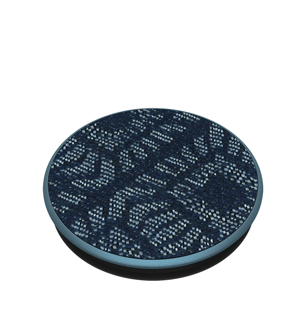 Denim ikat indigo, PopSockets