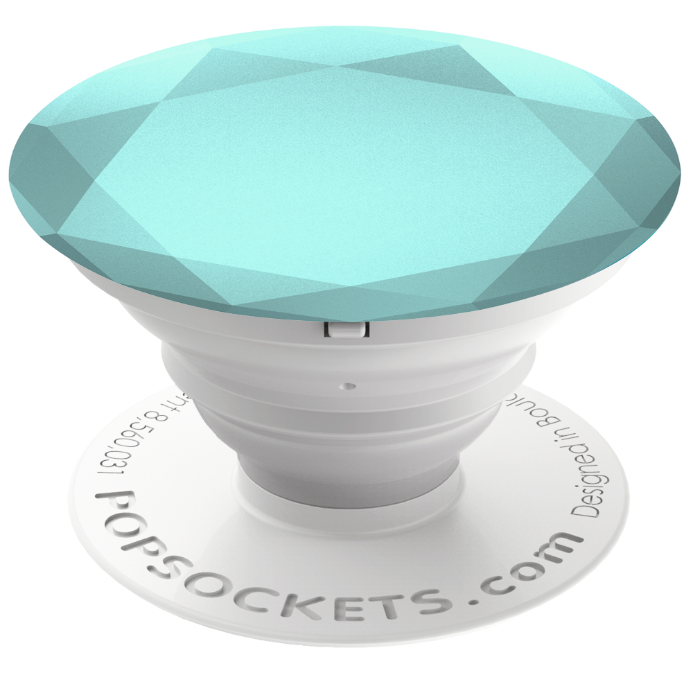PopSockets Grip Diamond Metallic Glacier, PopSockets