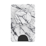 PopWallet+ Dove White Marble, PopSockets