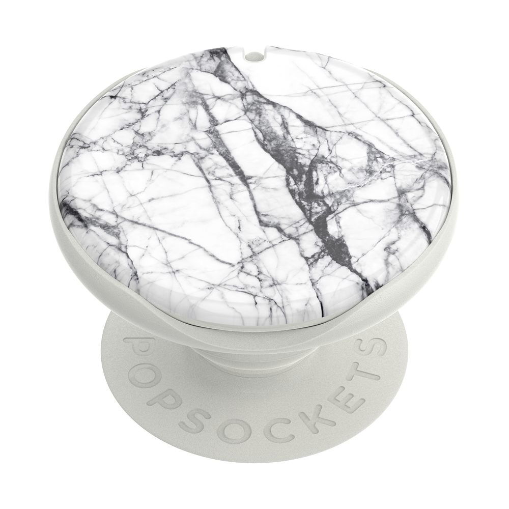 PopMirror  Dove White Marble, PopSockets