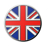 Enamel British Flag, PopSockets