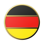 Enamel German Flag, PopSockets
