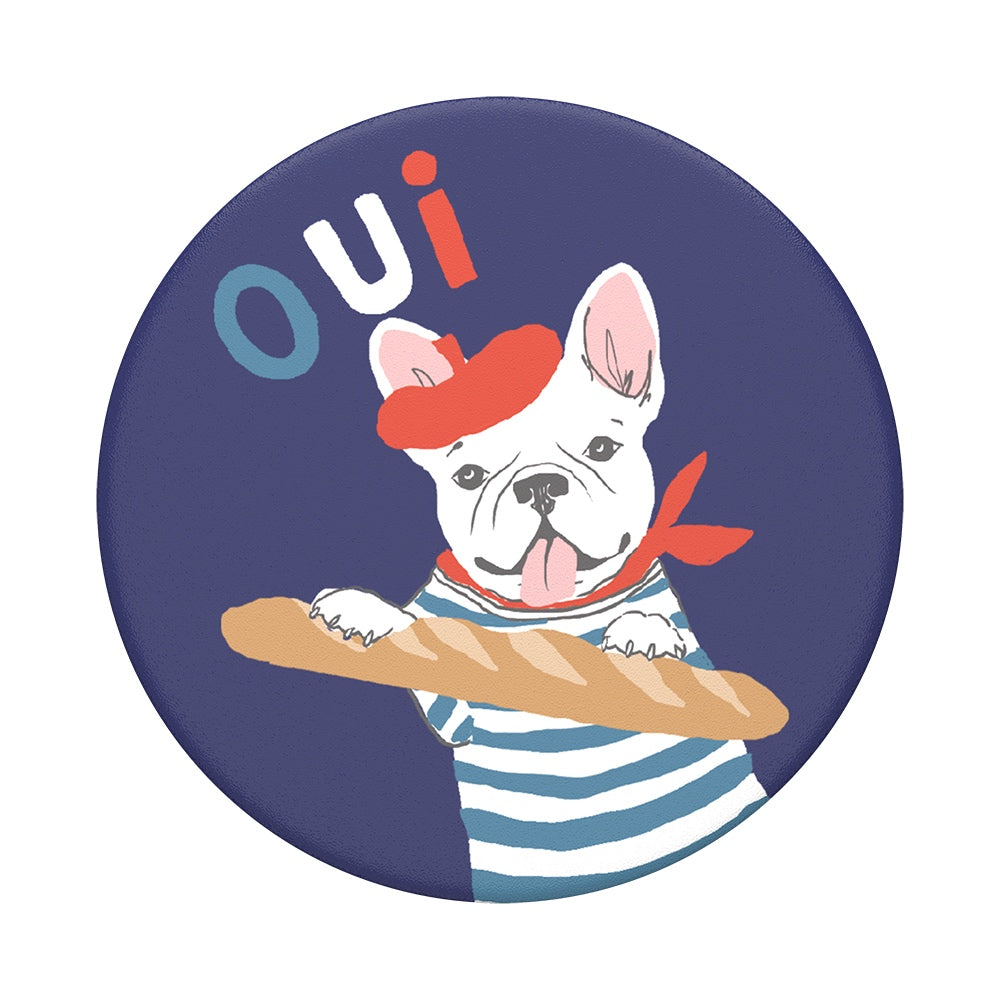 Swappable Frenchie, PopSockets