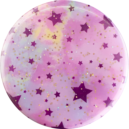 PopSockets Grip Glitter Starry Dreams Lavender (Gloss Surface)