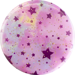 PopSockets Grip Glitter Starry Dreams Lavender (Gloss Surface), PopSockets