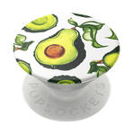 Swappable Guac Vintage Pearl, PopSockets