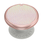 PopMirror Iridescent Pebbled Blush, PopSockets
