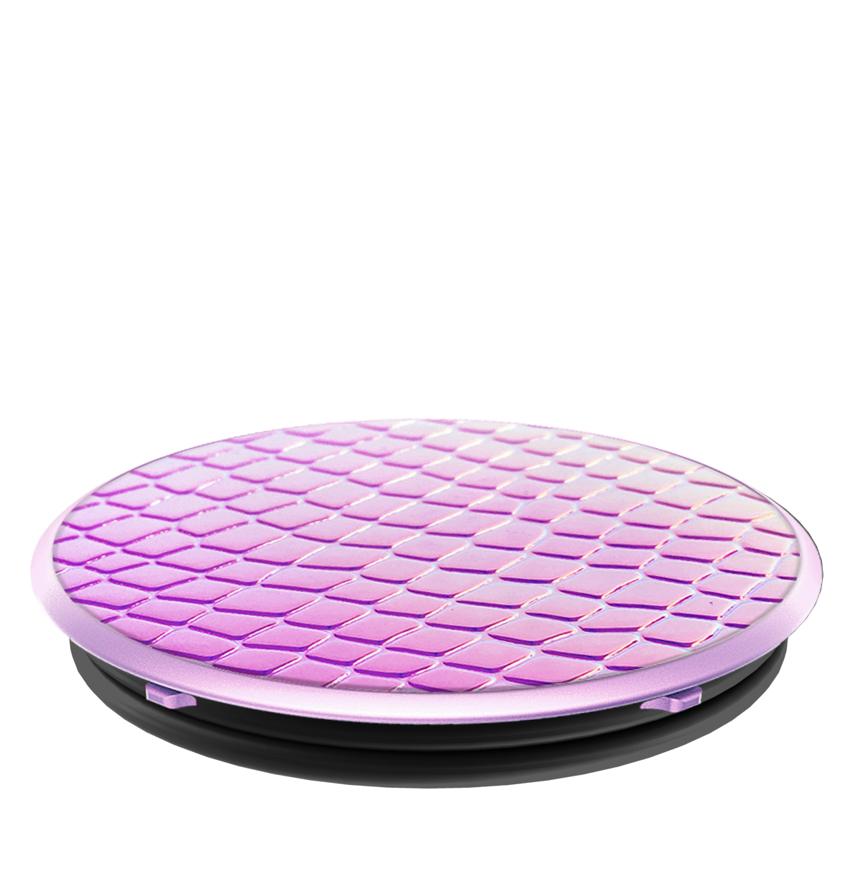 PopSockets Grip Iridescent Snake Golden Pink