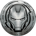 PopSockets Grip Monochrome Iron Man, PopSockets