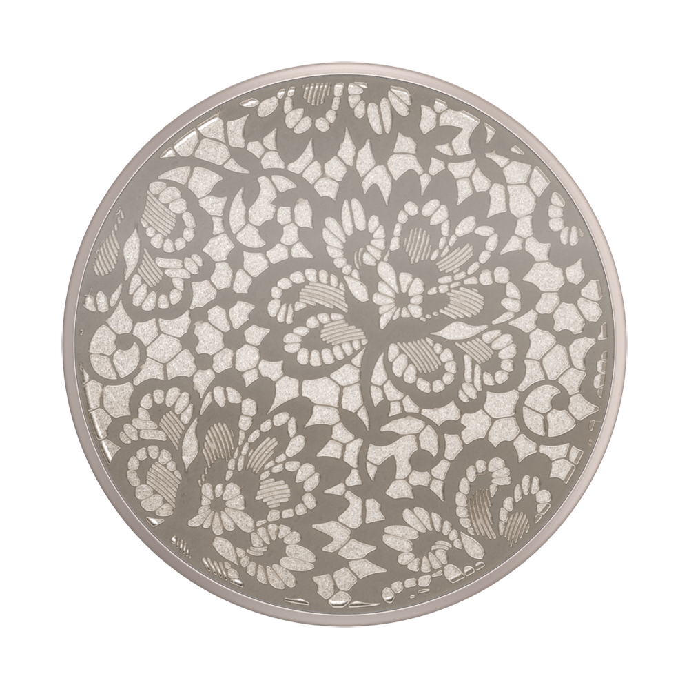 Lasercut Metal Floral Lace, PopSockets