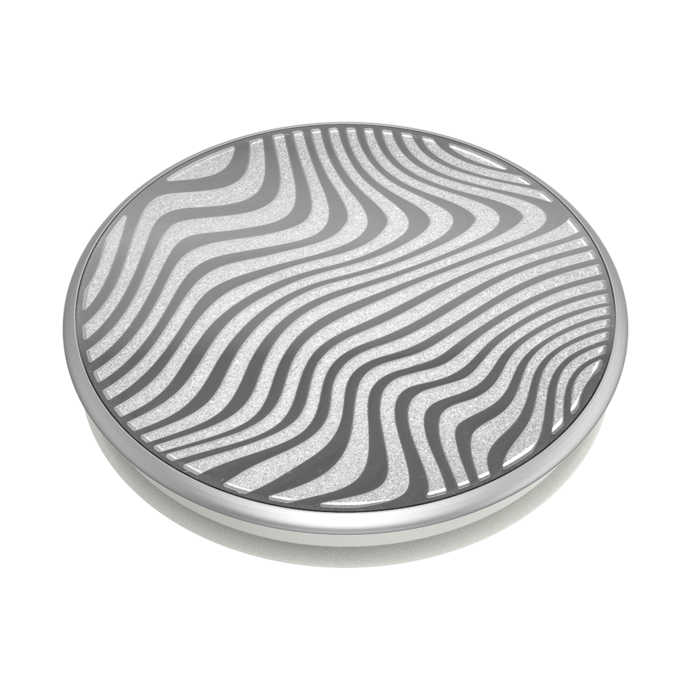 Swappable Lasercut Metal Terrain Wave, PopSockets