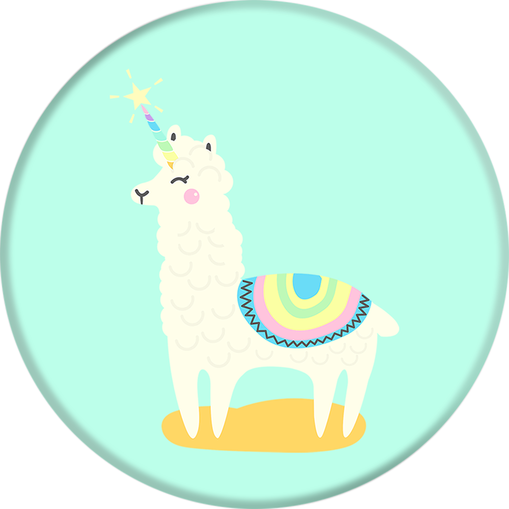 PopSockets Grip Llamacorn, PopSockets