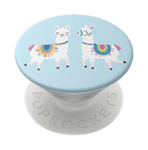 Swappable Llamalliance in Blue, PopSockets