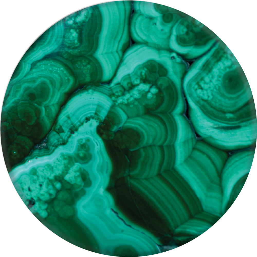 PopSockets Grip Malachite (Gloss Surface), PopSockets
