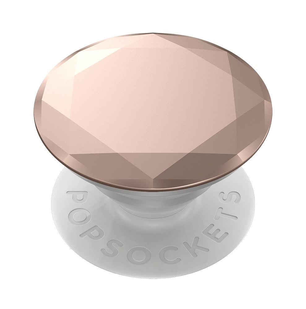 Swappable Metallic Diamond Rose Gold, PopSockets