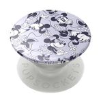 Swappable Disney Minnie Lilac Pattern, PopSockets