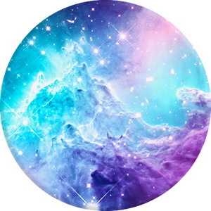 PopSockets Grip Monkeyhead Galaxy, PopSockets