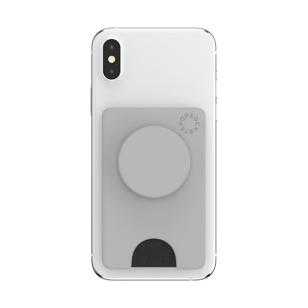 PopWallet+ Tech Grey, PopSockets