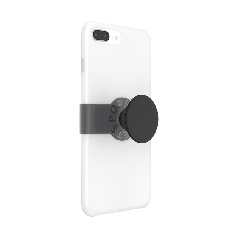 PopGrip Slide iPhone 8+ Black Haze, PopSockets