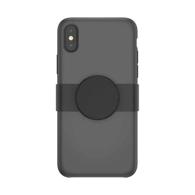 PopGrip Slide iPhone 11 Pro Black Haze, PopSockets