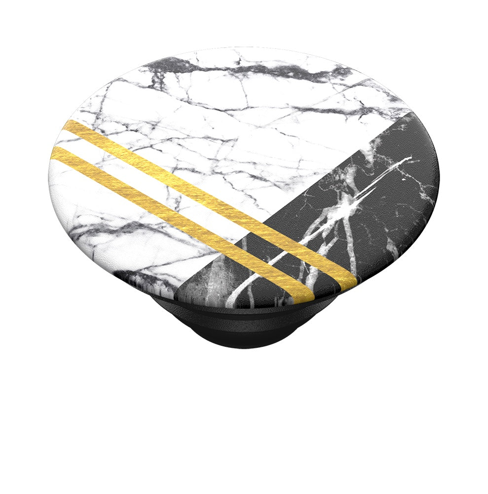 Swappable PopTop Art Deco Marble, PopSockets