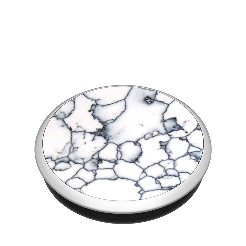 Swappable Crafted Stone White, PopSockets