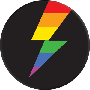 PopSockets Grip Rainbow Thunder (Gloss Surface), PopSockets