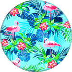 PopSockets Grip Rainforest Flamingos, PopSockets