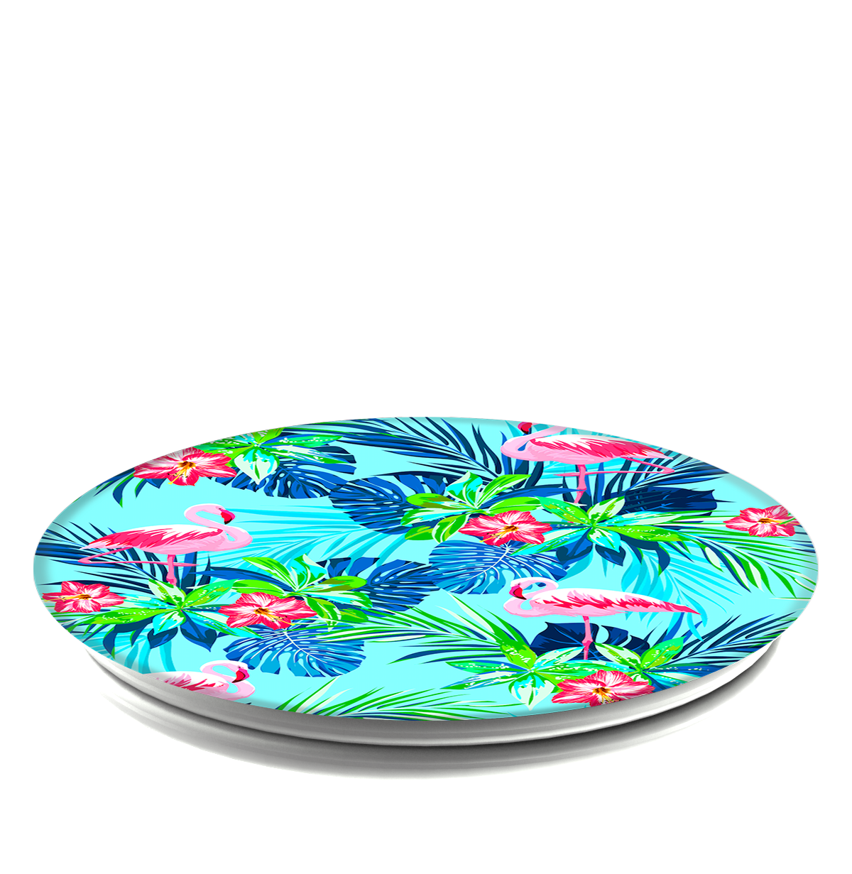 PopSockets Grip Rainforest Flamingos