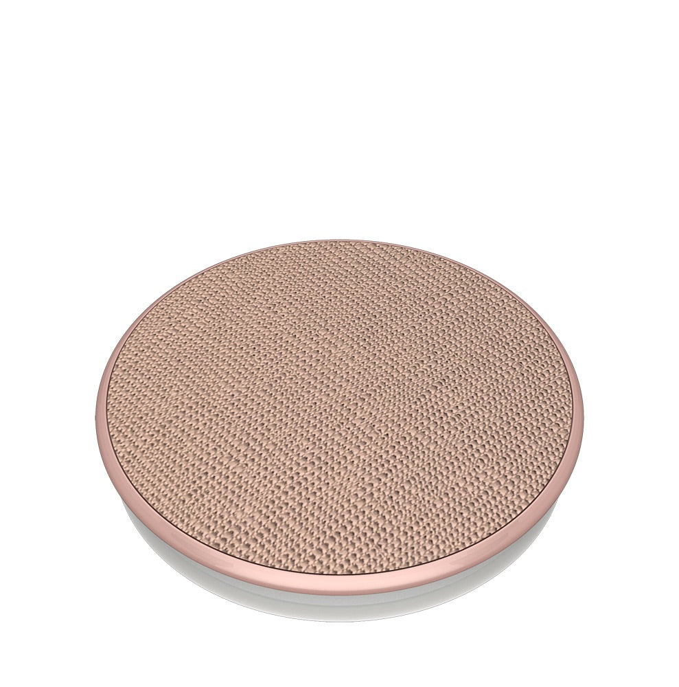 Swappable Saffiano Rose Gold, PopSockets