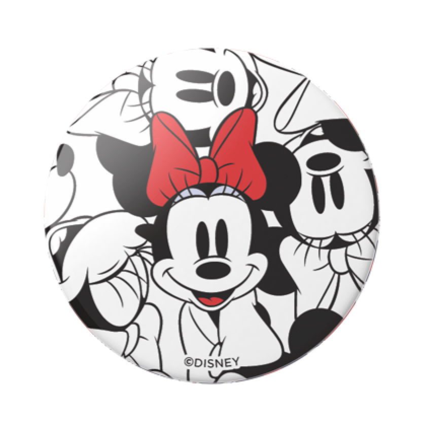 Swappable Disney Minnie Classic Pattern, PopSockets