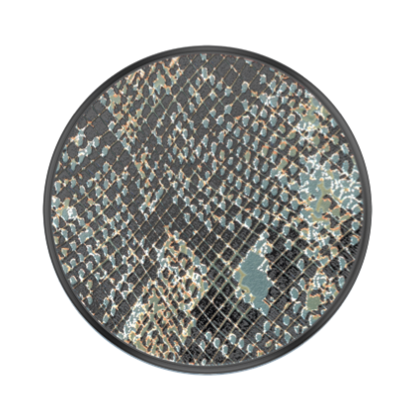 Swappable Embossed Metal Python, PopSockets