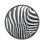 Embossed Metal Zebra, PopSockets