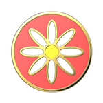 Swappable Enamel Quaint Daisy, PopSockets