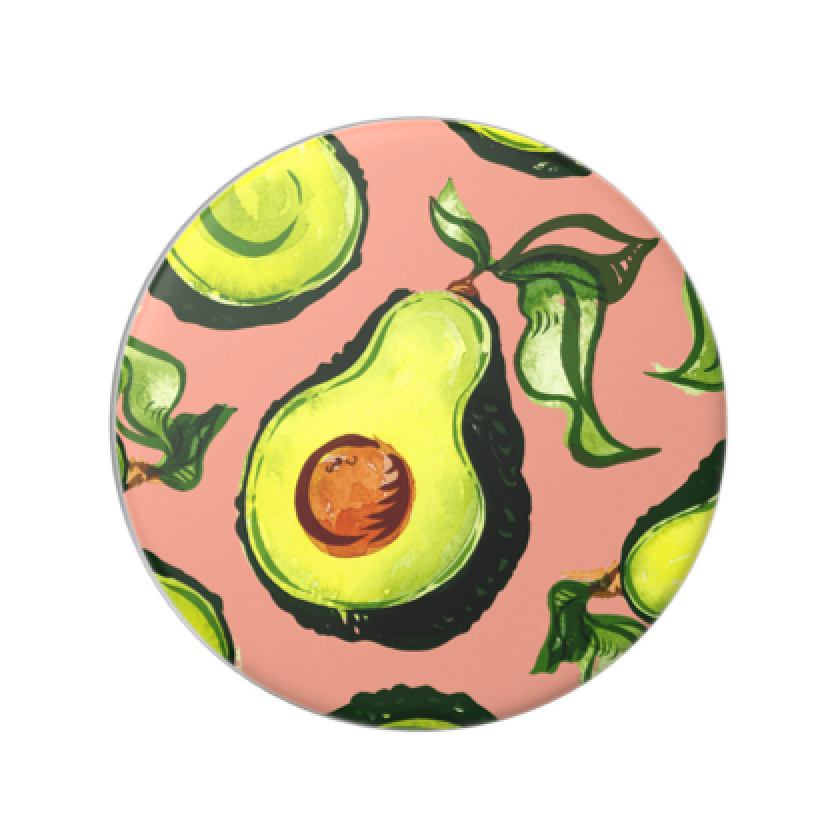 Swappable Guac Vintage Rose, PopSockets