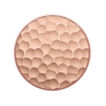 Swappable Hammered Metal Rose Gold, PopSockets